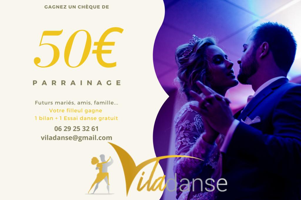 parrainage cours de danse à domicile à Bordeaux, bruges, bouliac, danses de salon, tango, valse