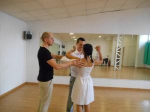 Cours de danse en salle privée